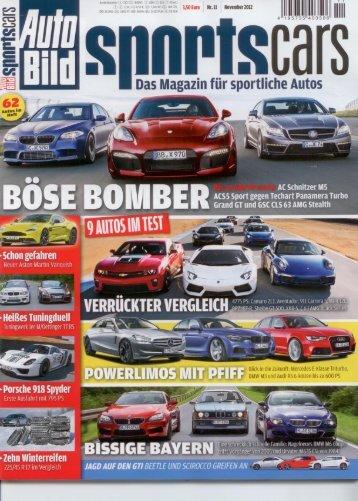 CTEK_Autobild Sportscars 11-12_Ladegerättest - Albert  ...