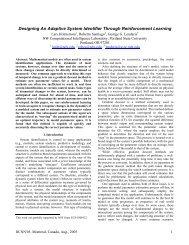 Designing An Adaptive System Identifier Through Reinforcement ...