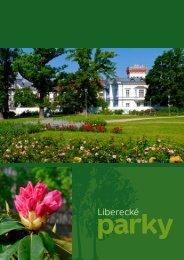 Liberecké parky - Statutární město Liberec