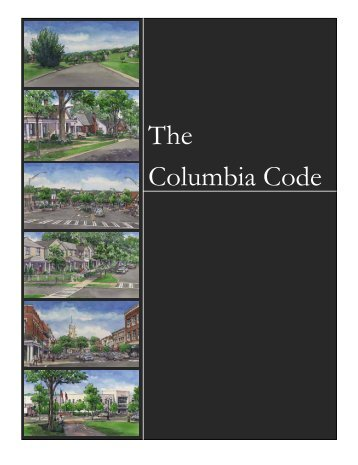 6. GeNeRal STaNdaRdS - City of Columbia, Tennessee