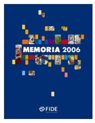 Memoria FIDE 2006 - Honduras Info