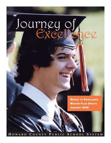 Journey to Excellence - BTE Master Plan Update - Howard County ...