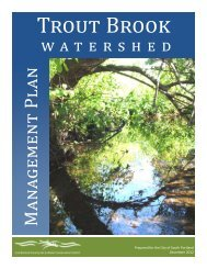 Trout Brook Watershed Management Plan - Cumberland County ...