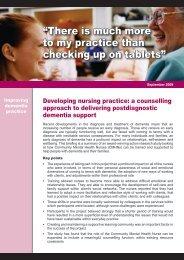 Developing Nursing Practice - Quality Improvement Hub