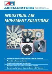 INDUSTRIAL AIR MOVEMENT SOLUTIONS - Air Radiators