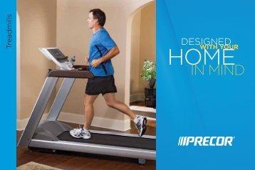 Learn about the Precor® Treadmill