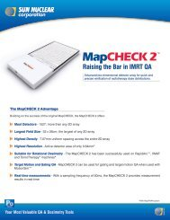 Your Most Valuable QA & Dosimetry Tools MapCHECK 2TM Raising ...