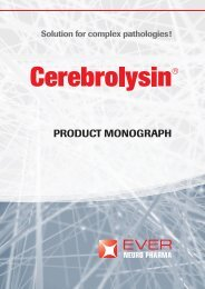 Cerebrolysin Ever Neuro Pharma (2010) - HyperMED