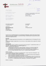 Bijlage 2 Advies Clevin - Gemeente Teylingen