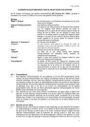 Algemene veilingvoorwaarden (PDF) - BVA Auctions