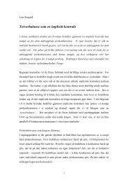 Terrorbalanse som en implisitt kontrakt - Fagbokforlaget