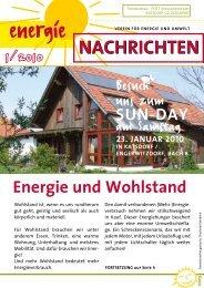Energie und Wohlstand - SOLARier