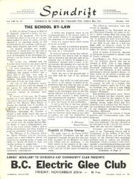 spindrift oct 1955 - Cordova Bay Association for Community Affairs
