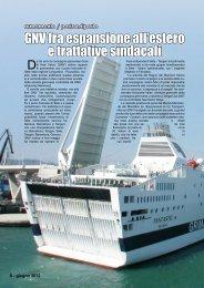 GNV fra espansione all'estero e trattative sindacali - Porto & diporto