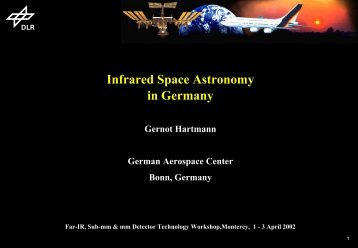 Infrared Space Astronomy in Germany - Sofia