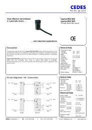 Description Circuit diagramm / I/O - Connection ... - Star Automation