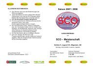 SCO – Meisterschaft - Schiclub Oberland
