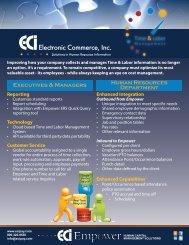 ECI Time and Labor Management - CompareHRIS.com