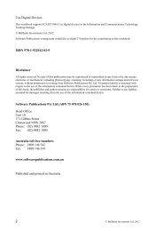 2 Use Digital Devices ISBN 978-1-922012-02-9 Disclaimer Software ...