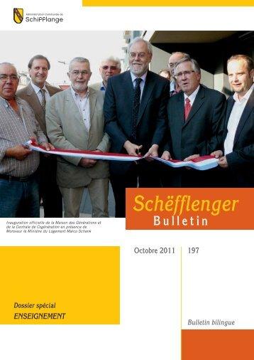 Bulletin 197 en Pdf - Schifflange.lu