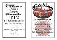 Stadionmagazin 15/2007 Turbine - TV Hauenstein II