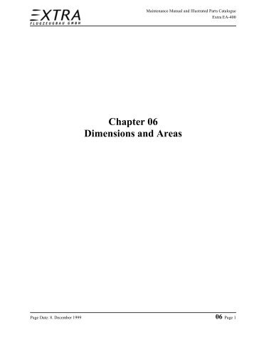 Chapter 6 - Extra Aircraft