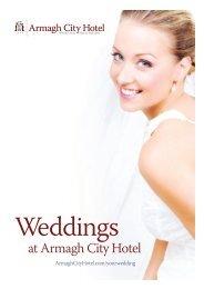 Wedding Brochure - Armagh City Hotel