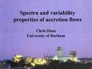 Spectra and variability properties of accretion flows - iucaa