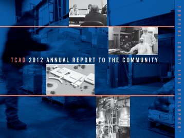 2012 TCAD Annual Report - Tompkins County Area Development