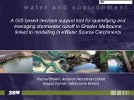 A GIS based decision support tool for quantifying and managing ...