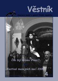 Festival muzejních nocí 2005 - Asociace muzeí a galerií České ...
