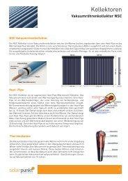 Vakuumröhrenkollektor NSC