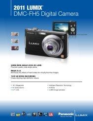 2011 LUMIX® DMC-FH5 Digital  Camera - Panasonic