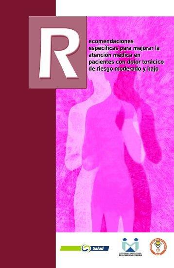 ecomendaciones específicas para mejorar la atención médica en ...