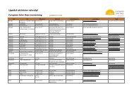 Upptäck aktiviteter nära dig! - European Solar Days