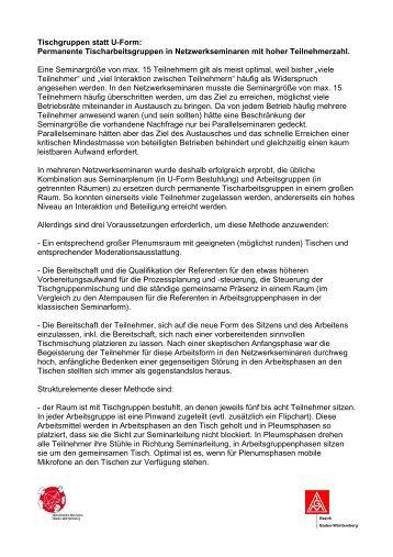 Tischgruppen magazine for Sitzgarnitur u form