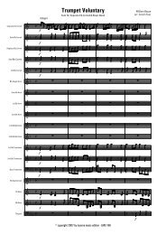 Trumpet Voluntary - Score.MUS - Lucerne Music Edition
