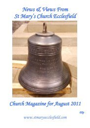 Front Cover - St Mary's Parish Church
