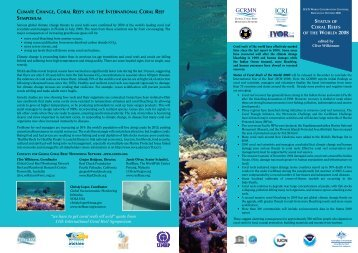 WORLD: 2008 - International Coral Reef Initiative