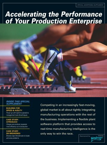 Accelerating the Performance of Your Production ... - Wonderware