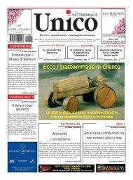 Ecco i trattori made in Cilento - Unico