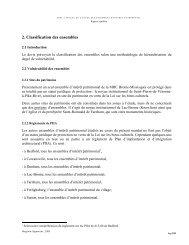 2. Classification des ensembles - MRC BROME-MISSISQUOI