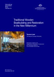 Traditional Wooden Boatbuilding and Restoration in the New ...
