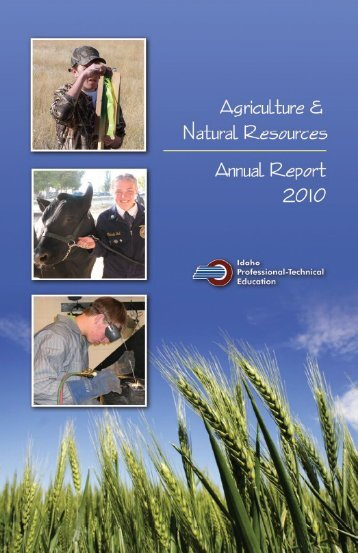 2009-2010 Annual Report - Idaho Professional-Technical Education