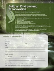 Build an Environment of Innovation - Greater Peterborough ...