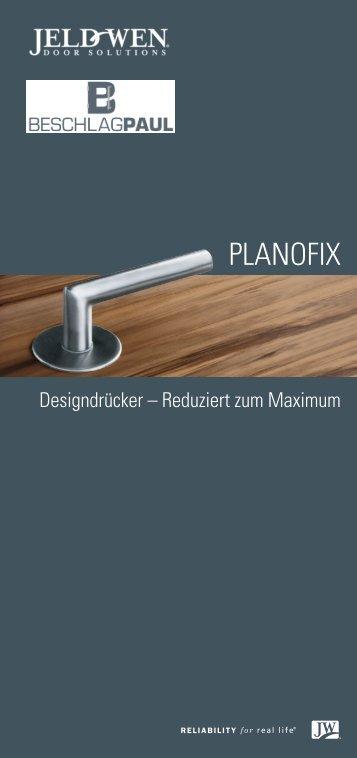 Planofix Designdrücker - Beschlag Paul GmbH