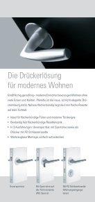 Planofix Designdrücker - Beschlag Paul GmbH - Seite 2