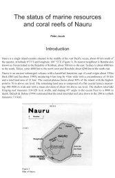 Nauru - International Coral Reef Initiative
