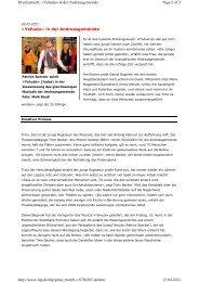 «Yehuda» in der Andreasgemeinde Page 1 of 2 Druckansicht ...