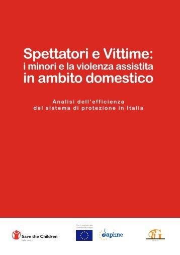 Spettatori e Vittime: - Save the Children Italia Onlus